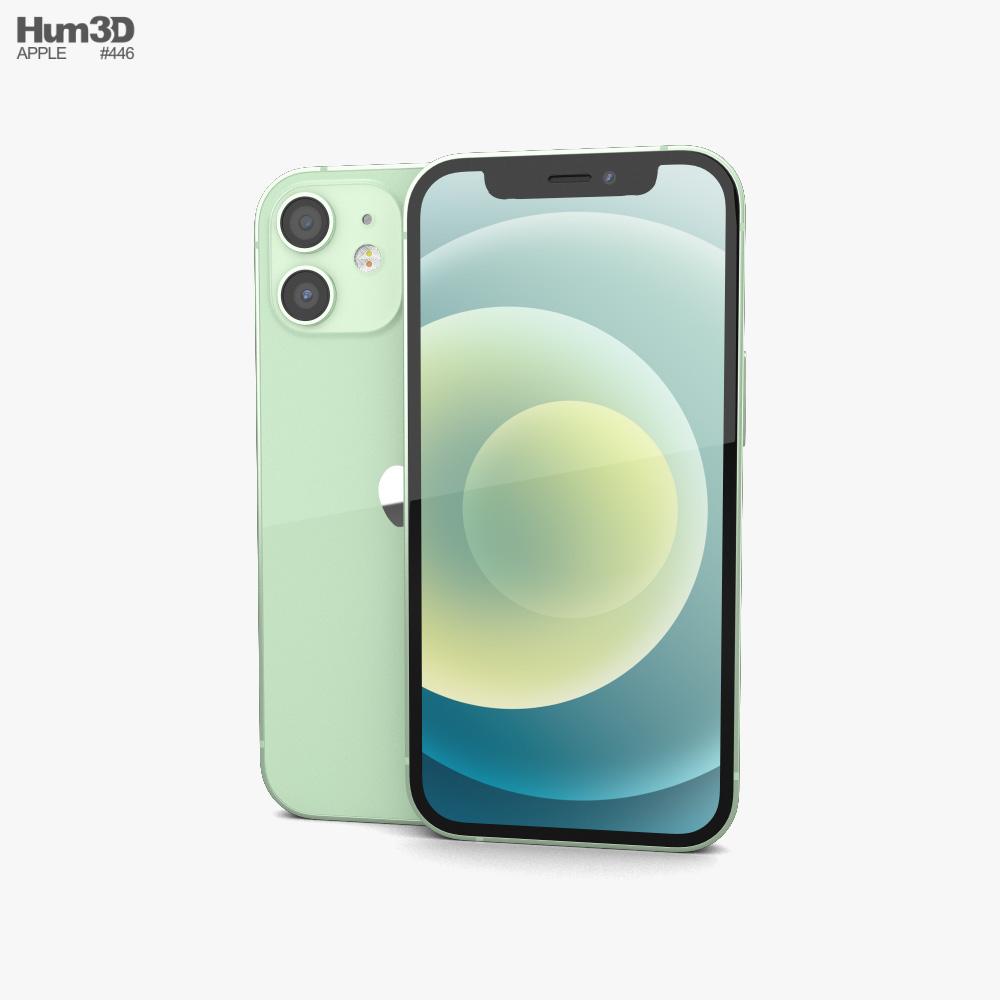 Apple iPhone 12 mini Green 3D model