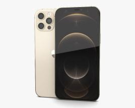 Apple iPhone 12 Pro Max Gold 3D model