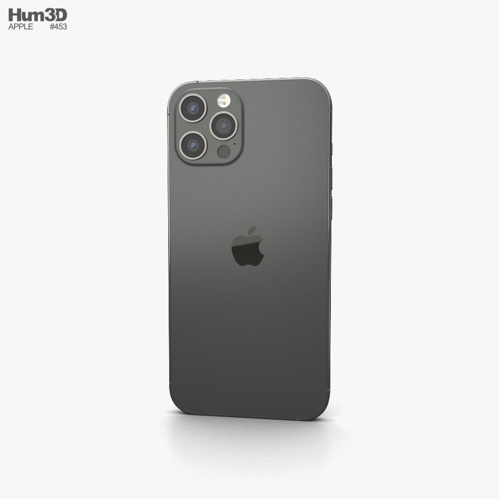 Apple iPhone 12 Pro Max Graphite 3d model