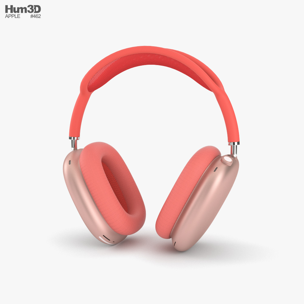 Apple AirPods Max Pink 3D model