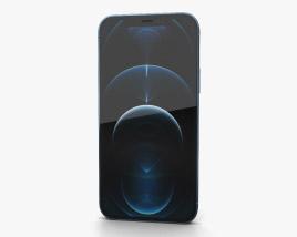 Apple iPhone 13 Pro Pacific Blue 3D model