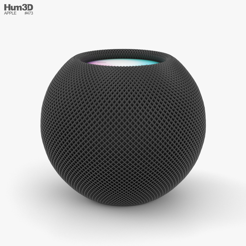 Apple HomePod Mini Space Gray 3D model