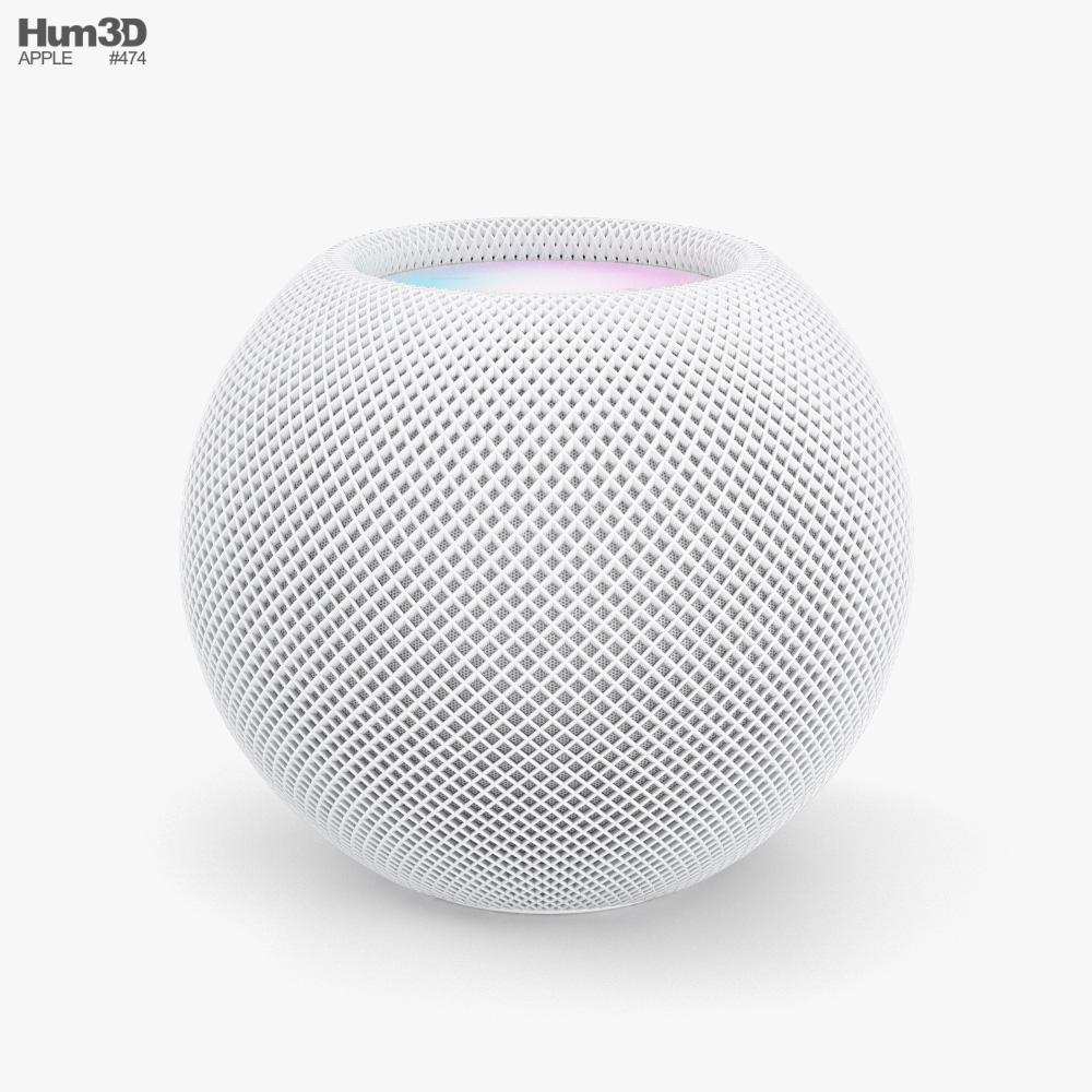 Apple HomePod Mini White 3D model