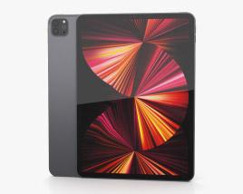 Apple iPad Pro 11-inch 2021 Space Gray 3D model