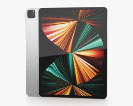 Apple iPad Pro 12.9-inch 2021 Silver 3D model