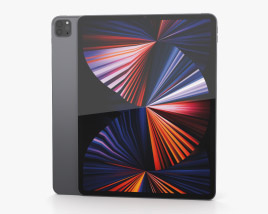 Apple iPad Pro 12.9-inch 2021 Space Gray 3D model