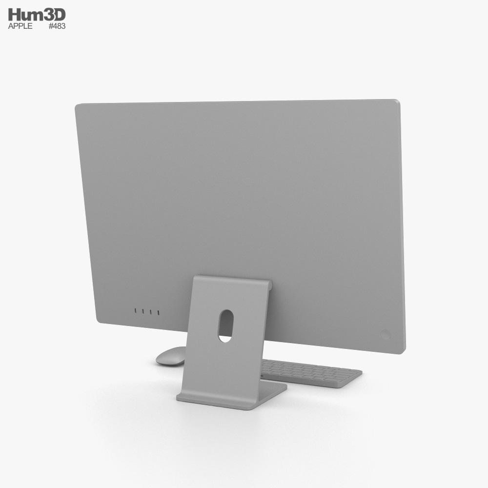 Apple iMac 24-inch 2021 Orange 3D model - Electronics on Hum3D