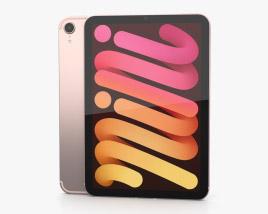 Apple iPad mini (2021) Pink 3D model