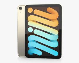 Apple iPad mini (2021) Starlight Modelo 3d