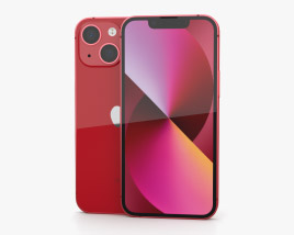 Apple iPhone 13 mini Red 3Dモデル