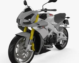 Aprilia Tuono V4 R 2012 3D model