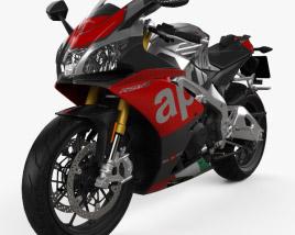 3D model of Aprilia RSV4 RF 2018