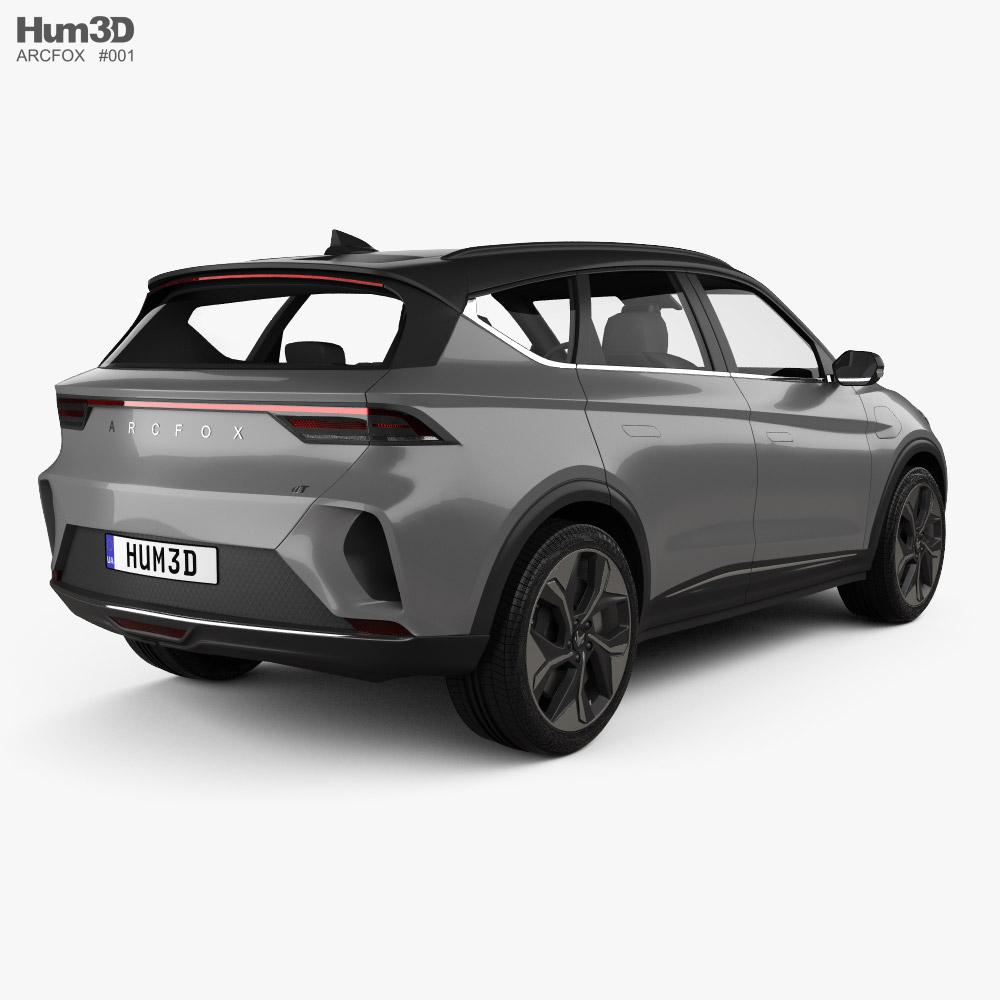 Arcfox a-T 2020 3d model