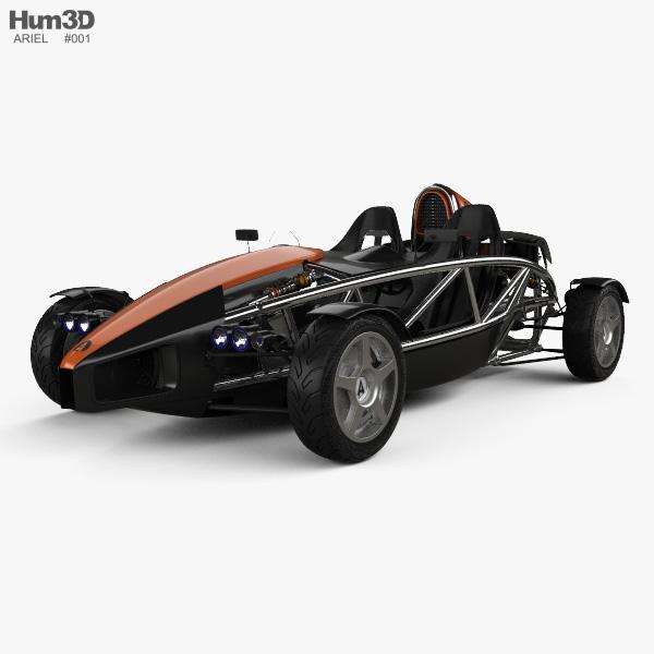 Ariel Atom 2012 3D model