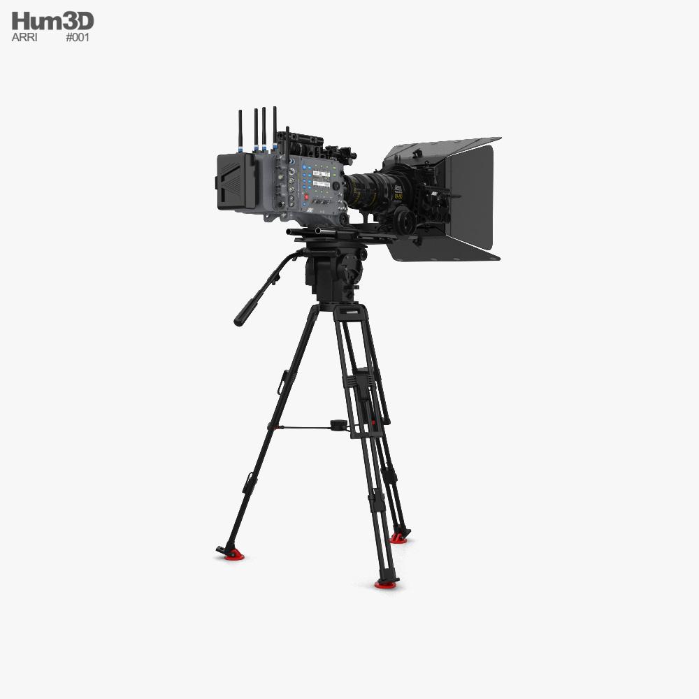 Arri ALEXA SXT Camera Set 3d model