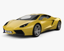 3D model of Arrinera Hussarya 2015