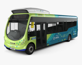 3D model of Arriva Milton Keynes Electric Bus 2014