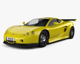 3D model of Ascari A10 2006