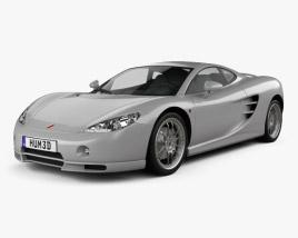 3D model of Ascari KZ1 2003