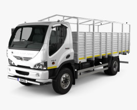 3D model of Ashok Leyland Boss Tipper Truck 2015
