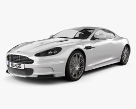 3D model of Aston Martin DBS 2010