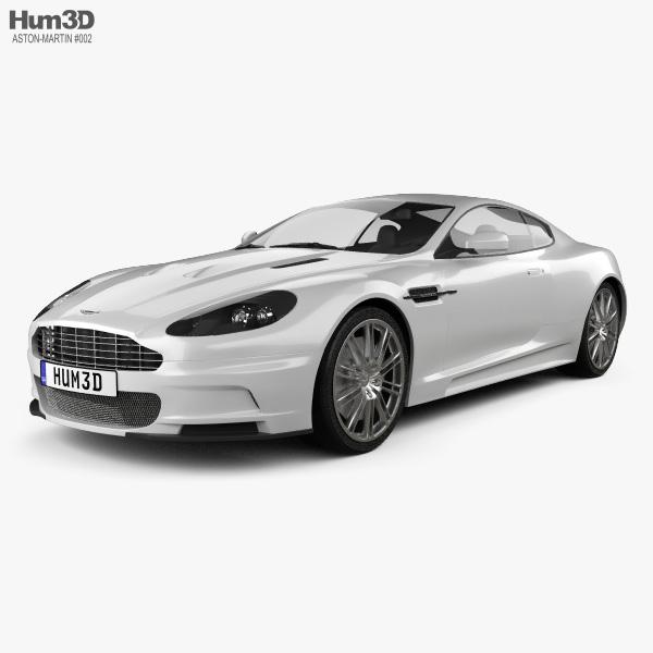 Aston Martin DBS 2010 3D model