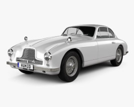 3D model of Aston Martin DB2 1950