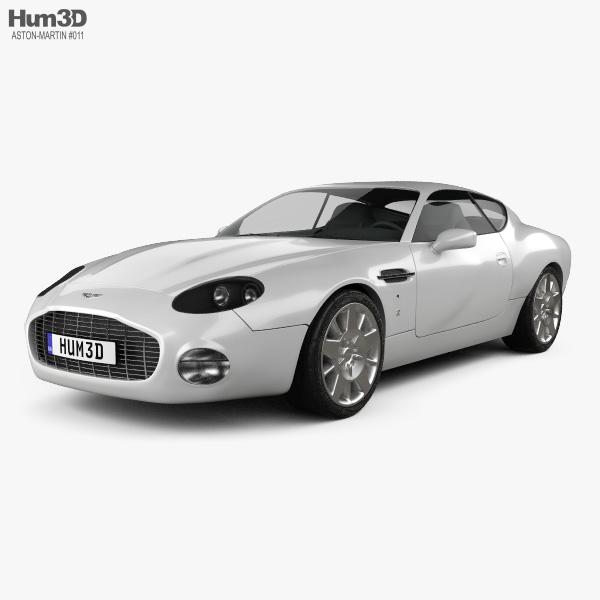 3D model of Aston Martin DB7 GT Zagato 2002
