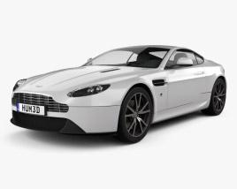 3D model of Aston Martin V8 Vantage 2012
