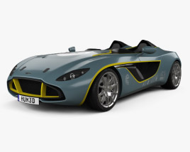 3D model of Aston Martin CC100 Speedster 2013