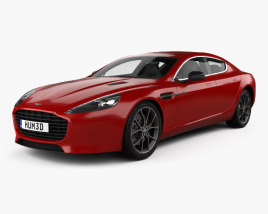 3D model of Aston Martin Rapide S 2013