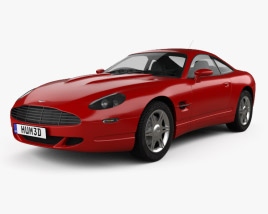 3D model of Aston Martin AM4 1997