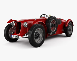 Aston Martin 2-Litre Speed Model 1939 3D model