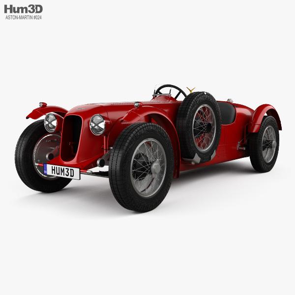Aston Martin 2-Litre Speed Model 1939 3D model