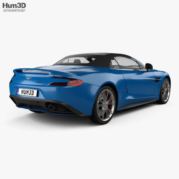 Aston Martin Vanquish Volante 2013 3D model