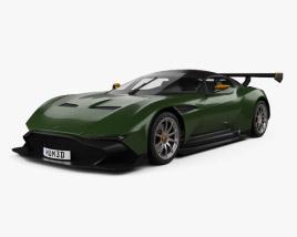 3D model of Aston Martin Vulcan 2015