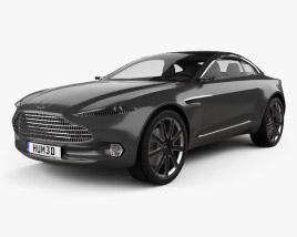 3D model of Aston Martin DBX concept 2015