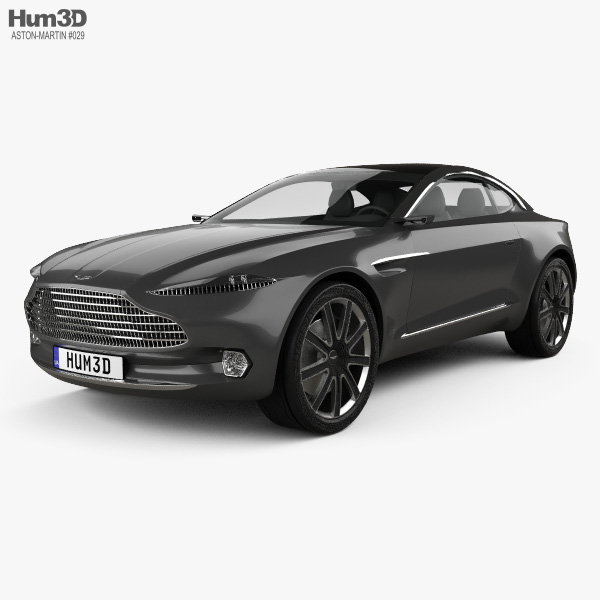 Aston Martin DBX concept 2015 3D model