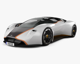 3D model of Aston Martin DP-100 Vision Gran Turismo 2014