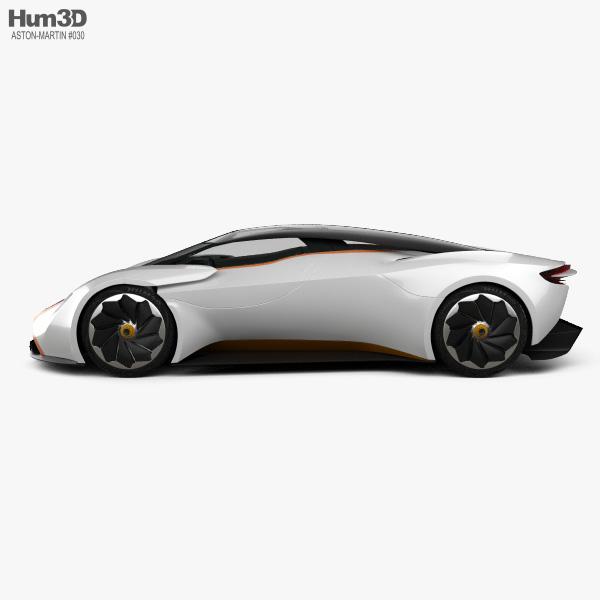 Aston Martin DP-100 Vision Gran Turismo 2014 3D model