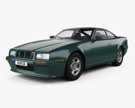 Aston Martin Virage 1989 3D model