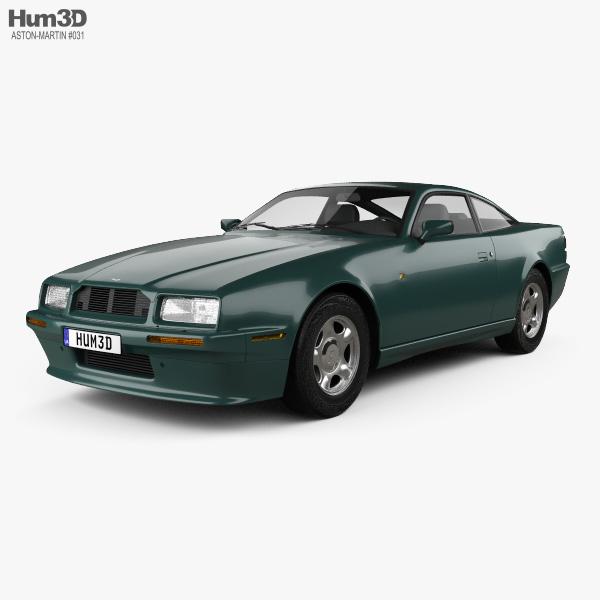 Aston Martin Virage 1989 3D model