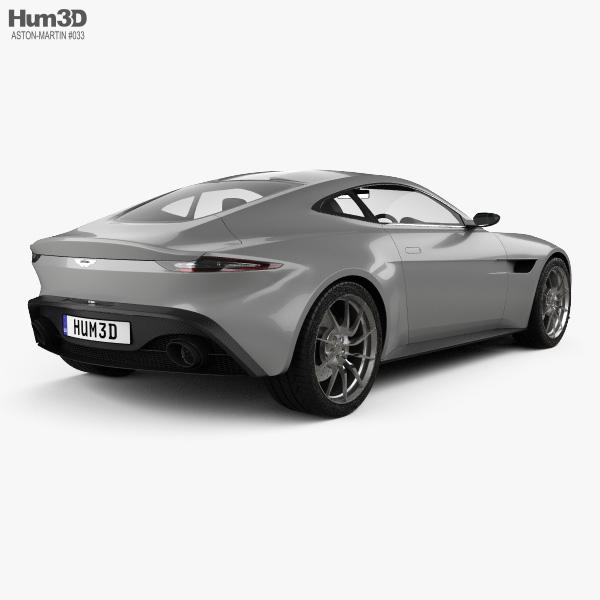 Aston Martin DB10 2015 3D model