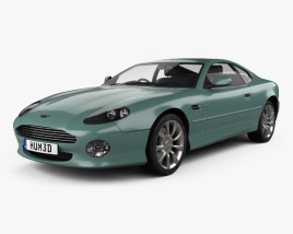 3D model of Aston Martin DB7 Vantage 1999