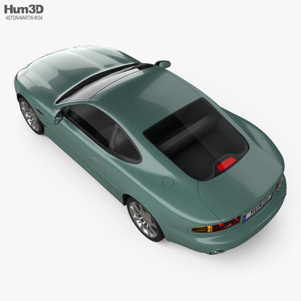 Aston Martin DB7 Vantage 1999 3D model