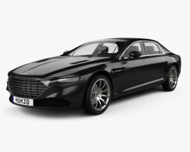 3D model of Aston Martin Lagonda 2014