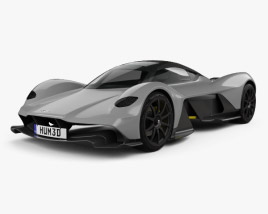 3D model of Aston Martin AM-RB 2018