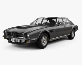 Aston Martin Lagonda V8 saloon 1974 Modelo 3D