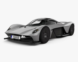 3D model of Aston Martin Valkyrie 2018