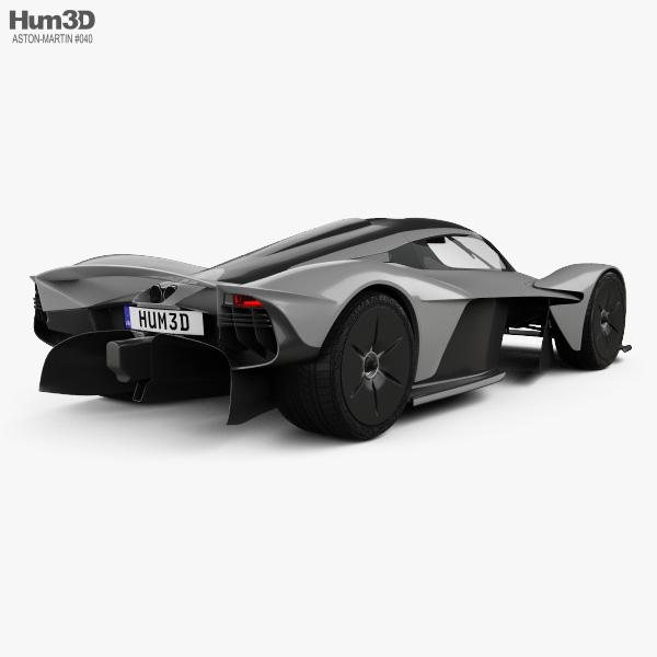 Aston Martin Valkyrie 2018 3D model